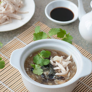 Imitation Shark Fin Soup (Fake Fin Soup).