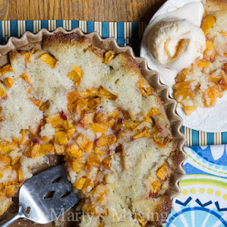 5 Ingredient Peach Cobbler Reicpe