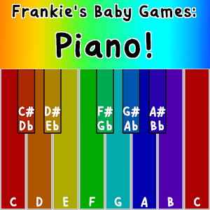 Frankie's Baby Games: Piano!