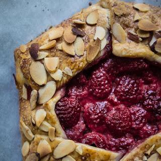 Easy Almond Raspberry Galette Recipe