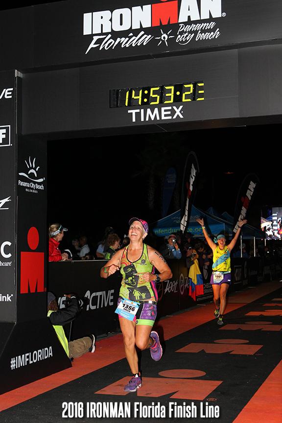 2016 Ironman Florida Finish Line
