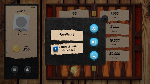 Backgammon GG - Online Board Game android2mod screenshots 2