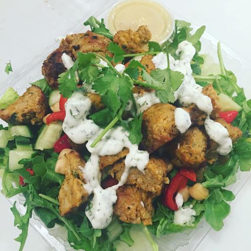 Chicken Meatball Salad