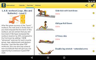 Screenshot of Butt Workout