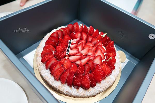 某某甜點Quelques Pâtisseries︱法式草莓達克瓦茲
