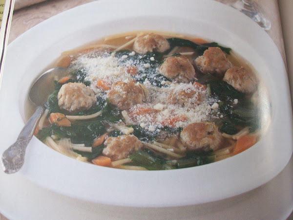 Escarole And Little Meatball Soup Recipe