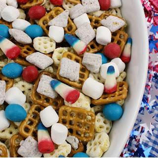 Patriotic Snack Mix.