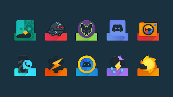 Ombre - Icon Pack Screenshot