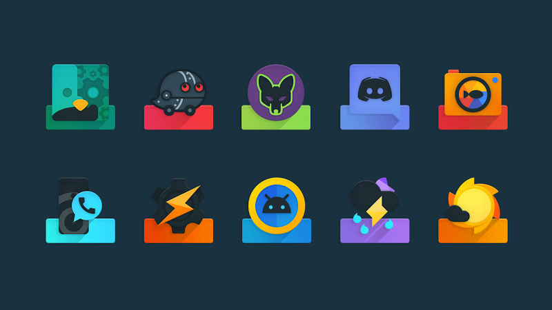 Ombre - Icon Pack Screenshot 5