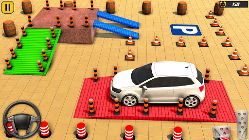 Télécharger gratuit Car Parking Driving School: Free Parking Game 3D APK MOD 1