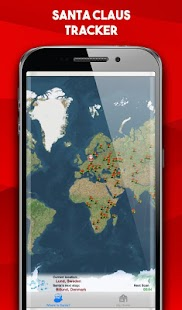 Santa Claus Tracker 2018 : Where is Santa Claus - náhled