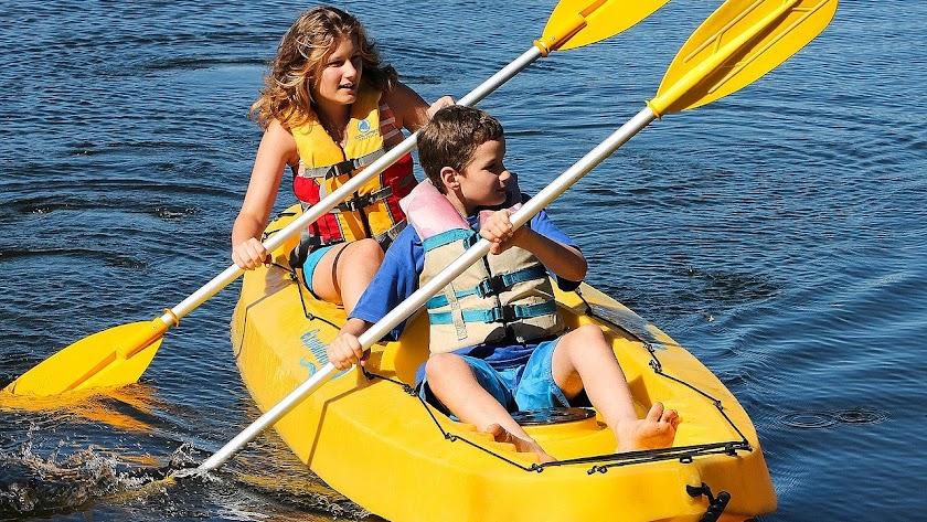 Ruta en Kayac en el Programa Cultural y Deportivo 2020 de Viator.