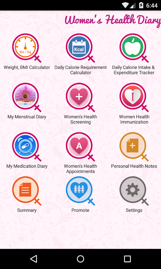 Android apps for women