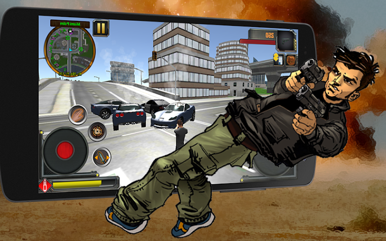 🔫Grand Vegas City Gangster 3D Screenshot