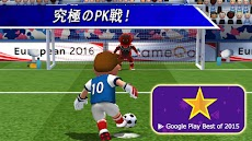 PK王 - 大人気☆無料サッカーゲームアプリのおすすめ画像1