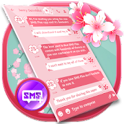 SMS Pink Theme for Texting