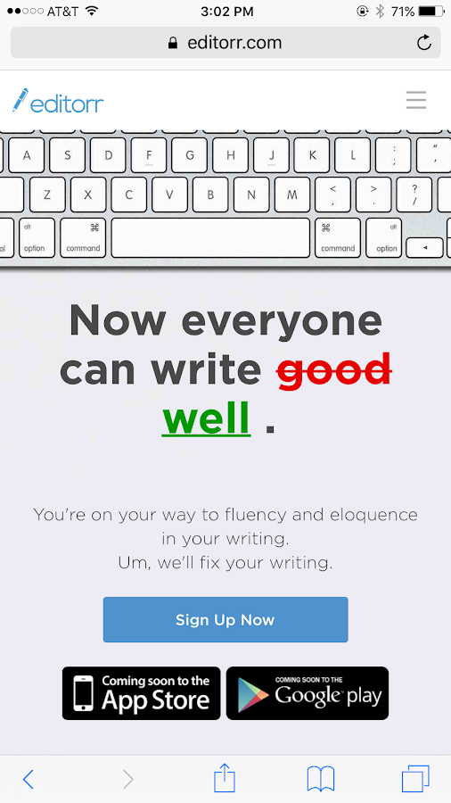 editorr -pay as you go 24/7 proofreading & editing- screenshot