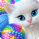 Knittens: Sweet Match 3 Puzzles & Adorable Kittens - Androidアプリ