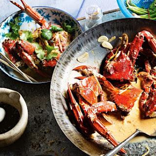 Black Pepper Blue Swimmer Crab