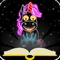 Draw Glow Unicorn icon