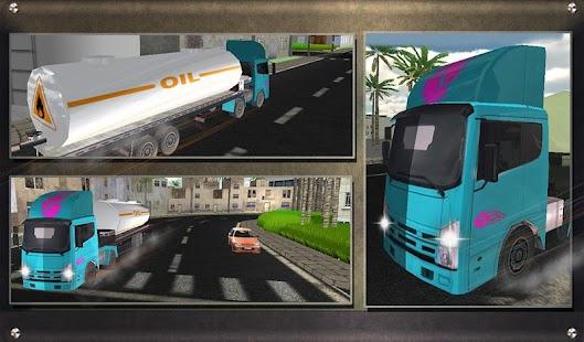 Real-Oil-Tanker-Truck-Driving 12