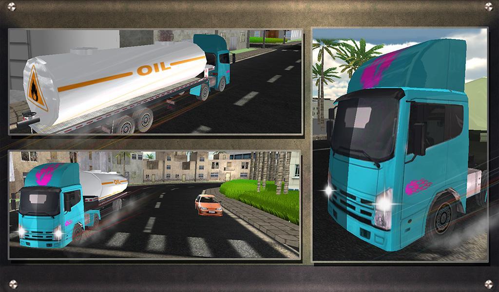 Real-Oil-Tanker-Truck-Driving 30