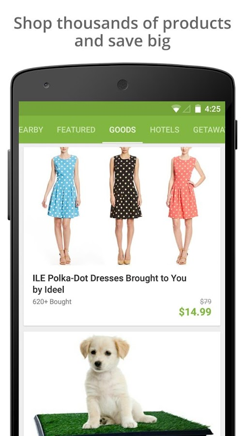 Groupon - Shop Deals, Discounts & Coupons- screenshot