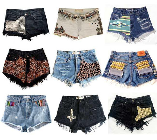 DIY Shorts Design Ideas