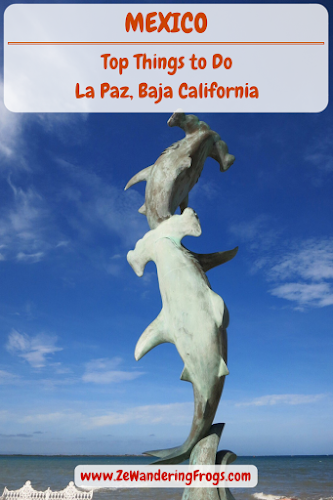 Things to Do in La Paz Mexico // Marine Statue