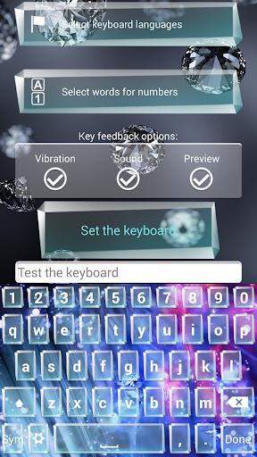 ダイヤモンド キーボード テーマ|玩個人化App免費|玩APPs
