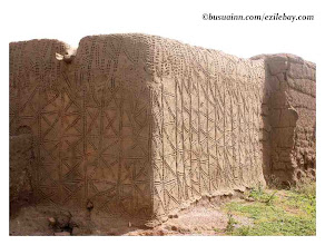 "Photo: Maison ""calendrier"" du nord ouest  Ghana"