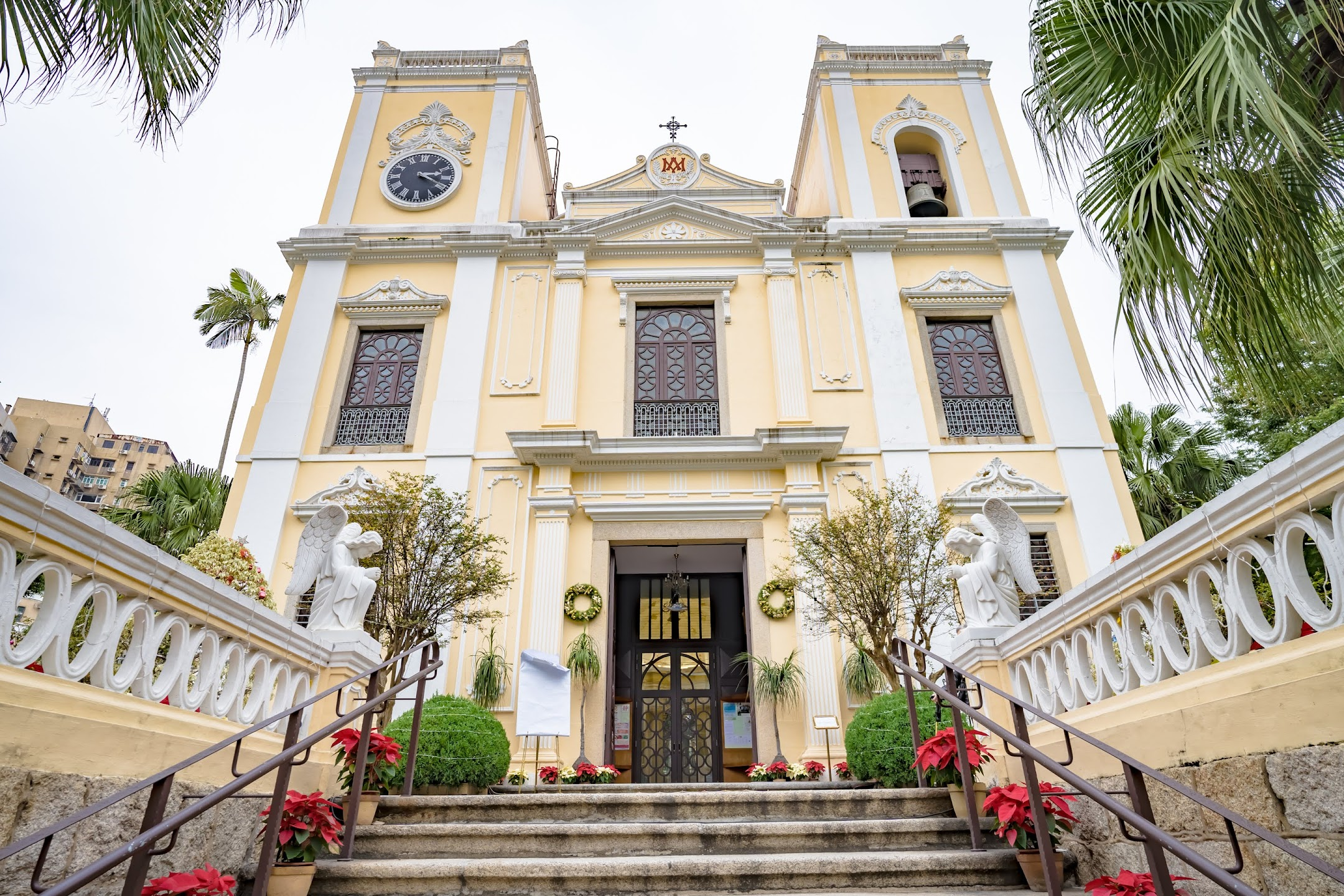 Macau St. Lawrence's Church/聖老楞佐教堂/Igreja de S. Lourenço1
