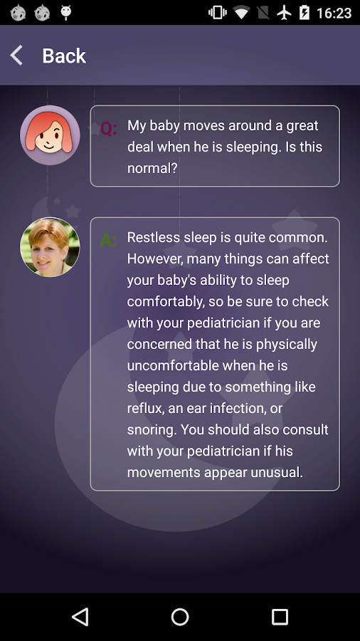 JOHNSON'S® BEDTIME® Baby Sleep- screenshot