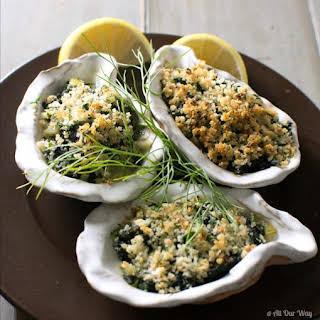 Oysters Rockefeller Italian Style An Elegant Appetizer.