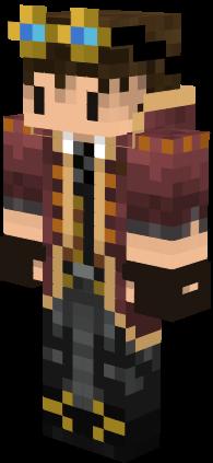 Chibi Steampunk Boy Nova Skin