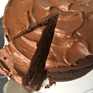 Chocolate Cake With Cream Cheese Swirl Recipes