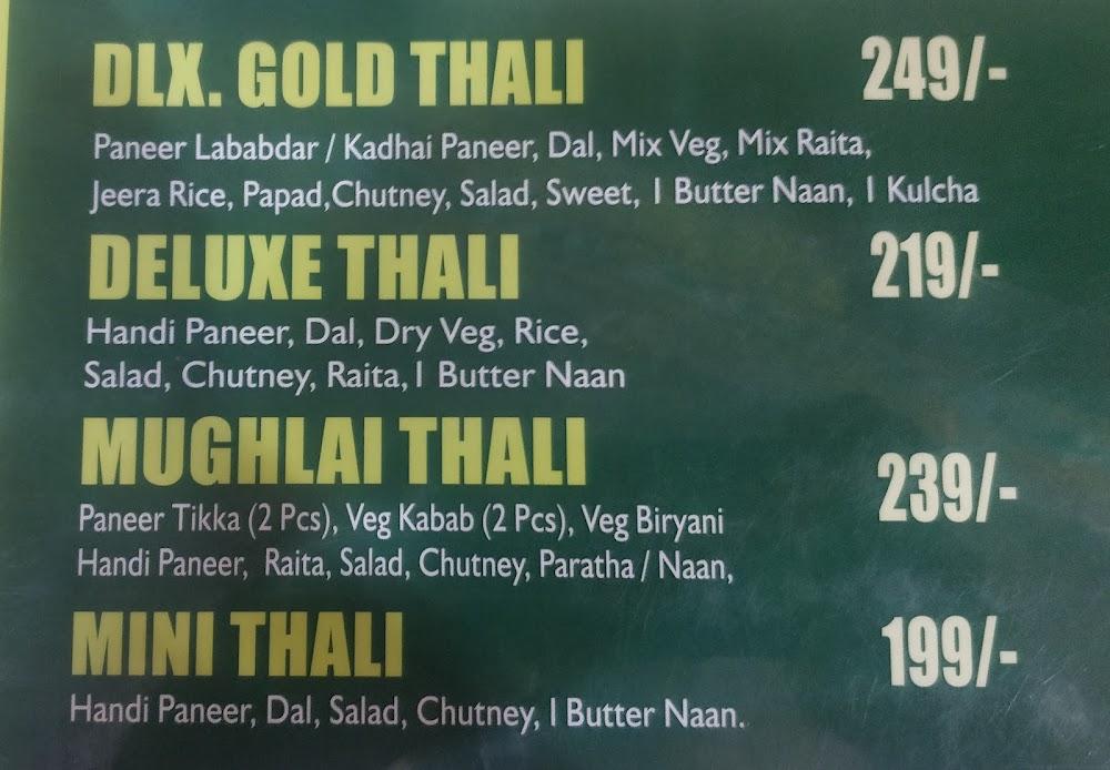 Nathu's menu 4