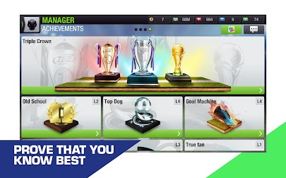 Top Eleven 2019 -  Be a soccer manager APK screenshot thumbnail 12