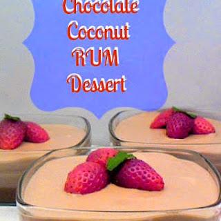 Coconut Rum Desserts Recipes.