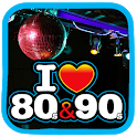 Music of the 80s and 90s Free - Music 80 and 90 icon