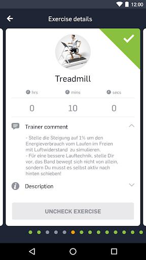 EGYM Fitness app screenshots 2