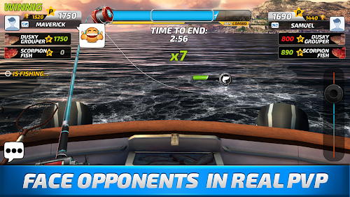 Screenshot 4 Fishing Clash: Catching Fish Game. Bass Hunting 3D 1.0.42 APK MOD