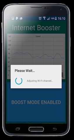 android Internet Speed Booster Prank Screenshot 4