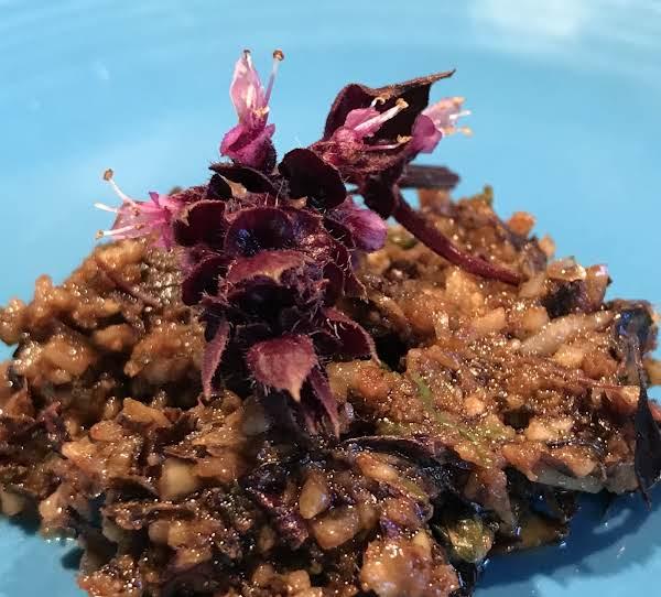 Purple Pesto Recipe