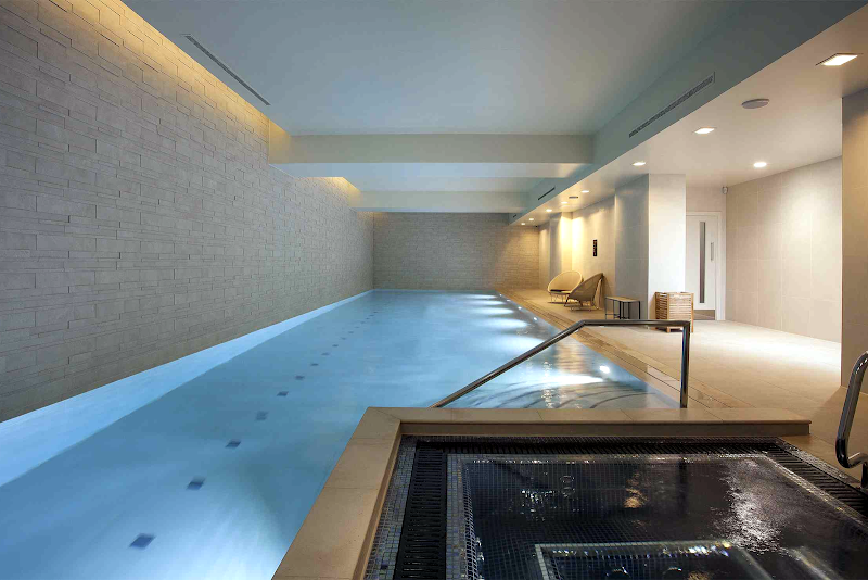 Luxury pool at Chapel Street Manachester