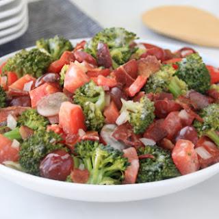 Healthy Broccoli Bacon Salad
