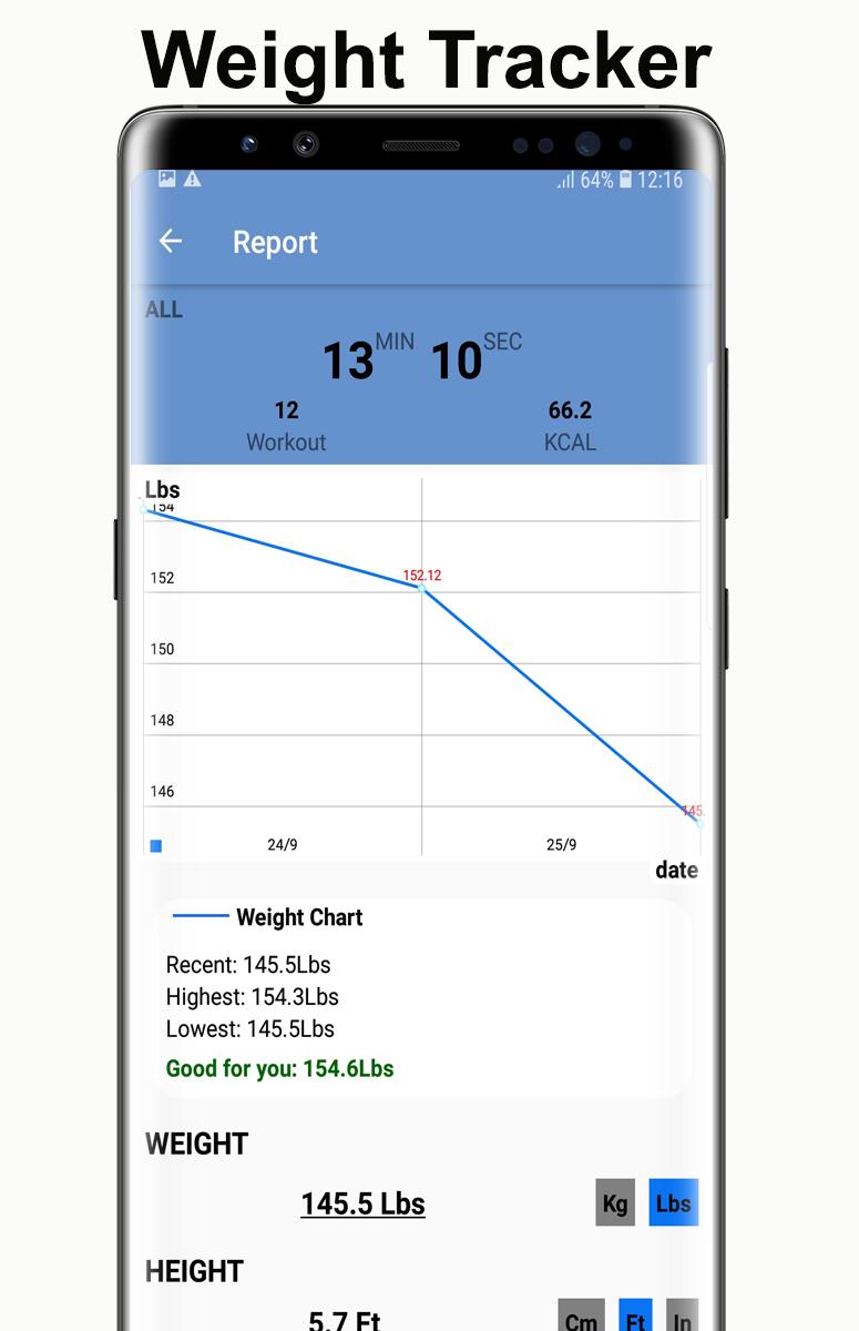 Home Workouts Gym Pro (No ad) Screenshot 5