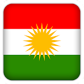 Selfie with Kurdistan flag