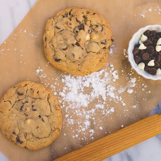 Colossal Double Chocolate White Chip Cookies Recipe