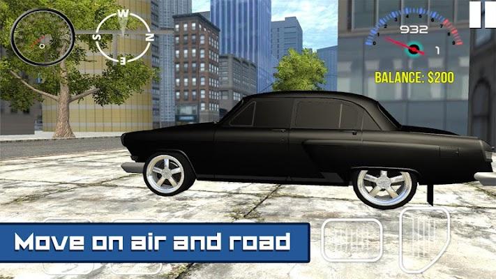 Flying Volga Gaz Simulator - screenshot